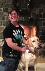 Blake and Daisy~Christmas 2012