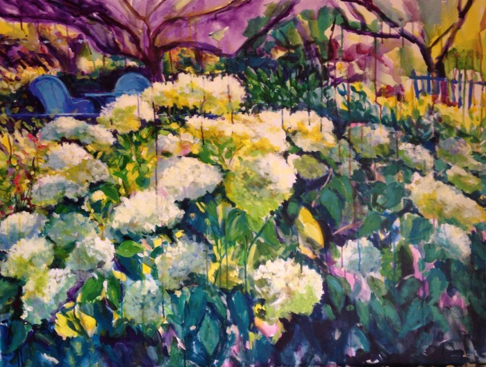 """Abundance"" 36"" x 48"" acrylic on museum wrapped canvas"