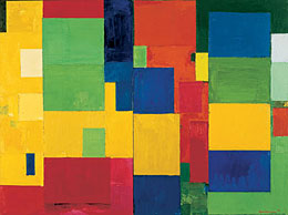 mann, Combinable Wall I and II, oil on canvas,1961.