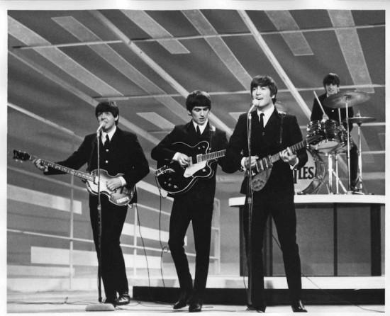The Beatles First Appearance on the Ed Sullivan Show 1964 CBS
